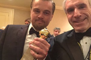 Leonardo Di Caprio & Ross Crystal