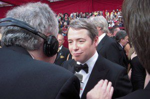 Matthew Broderick & Ross Crystal