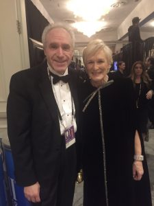 Ross Crystal & Glenn Close